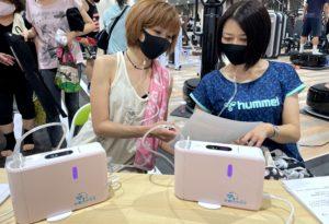 スポレッシュ太田_20210412_水素吸入器無料体験イベント